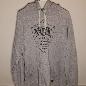 Crooks & Castles grey hoodie